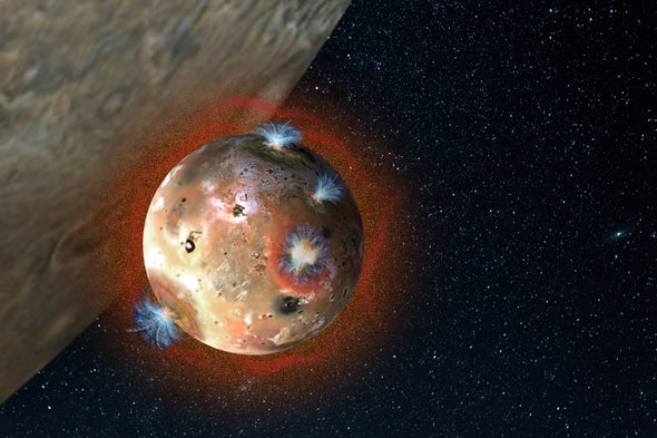Astronomers Watch as Io's Atmosphere Collapses