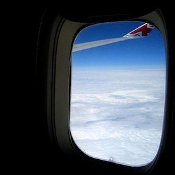 Why Airplane Windows Don't Roll Down