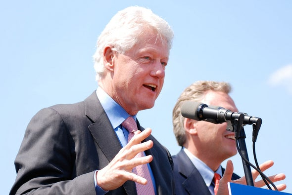 How Clinton and Blair Talked about Global Warming