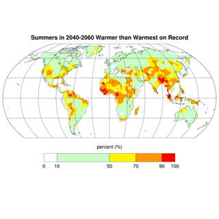Croplands May Wither as Global Warming Worsens