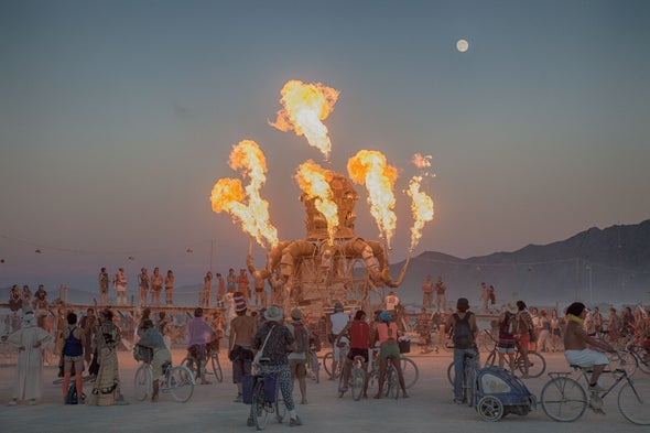 Burning Man's Mathematical Underbelly