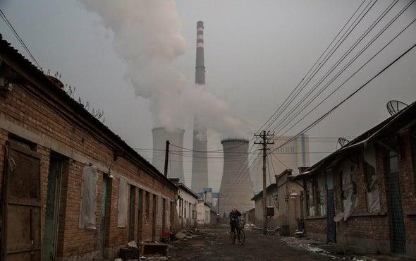 Rise in Global Carbon Emissions Slows