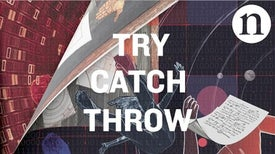 """Try Catch Throw"": A Science Fiction Motion Comic"