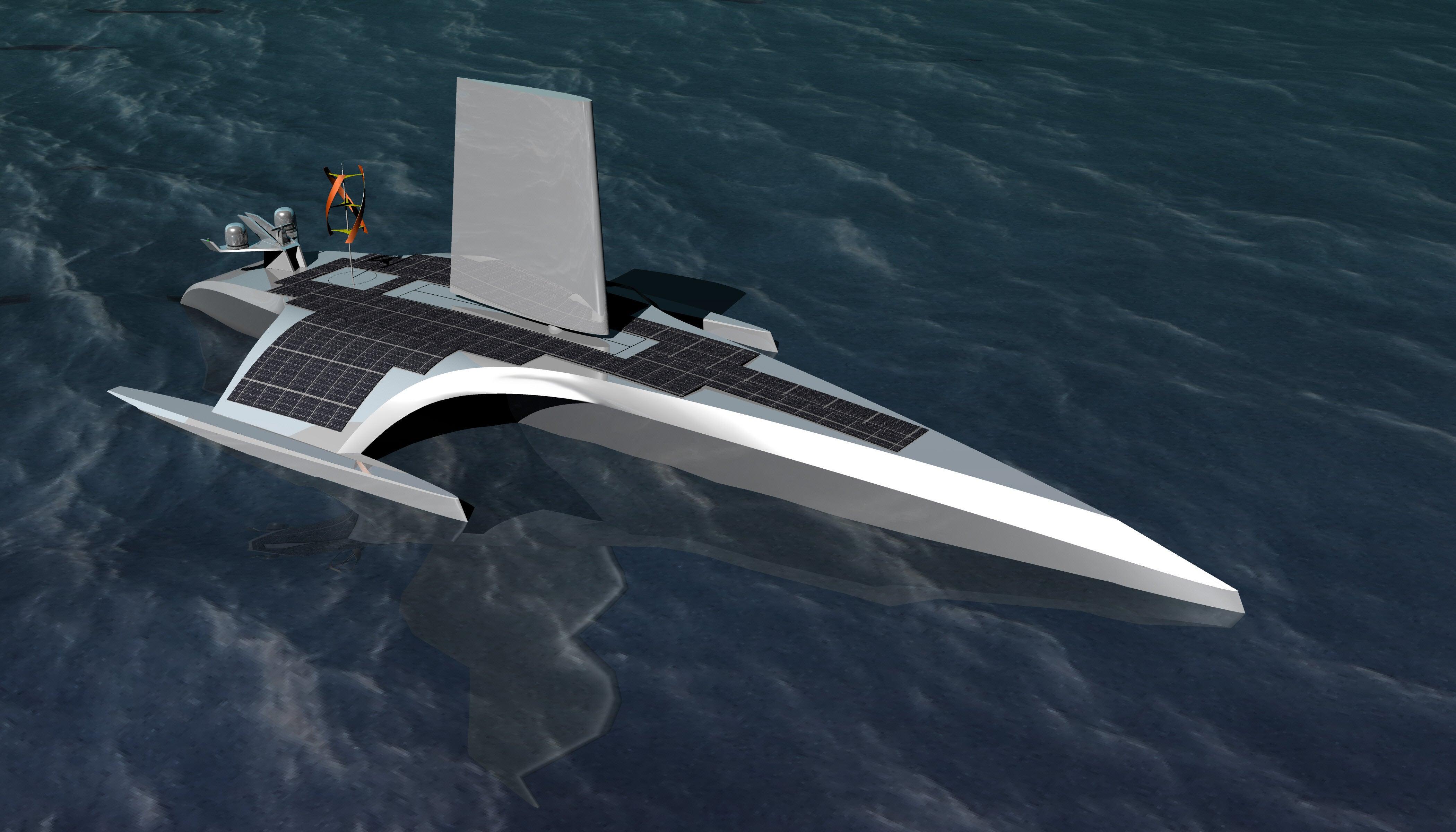 High-Tech Ghost Ships Will Set Sail sans Sailors