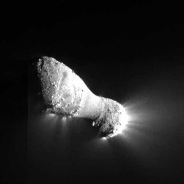 Conjoined Comet: Hartley 2 May Have Formed from 2 Disparate Bodies
