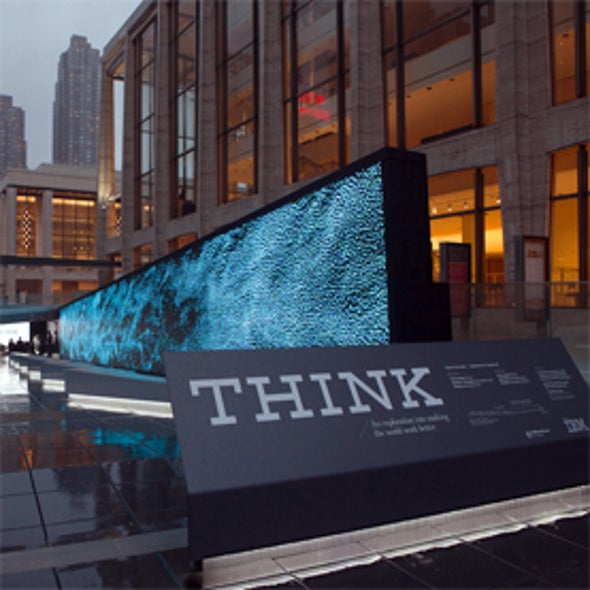 Sensors and the City: IBM Exhibit Visualizes Today's Urban Problems--and Potential Solutions [Slide Show]