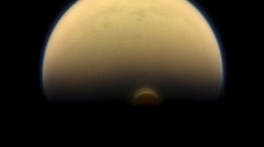 Gigantic Ice Cloud Spotted on Saturn Moon Titan