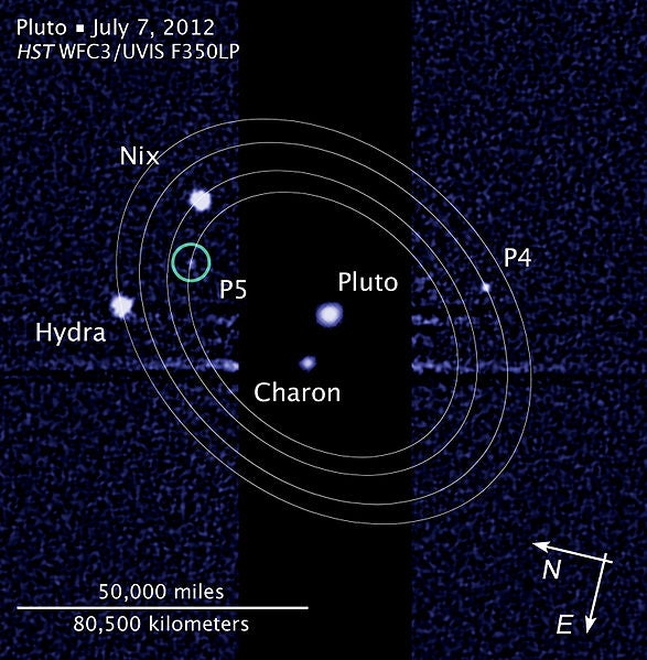 Pluto's Moons Move in Synchrony