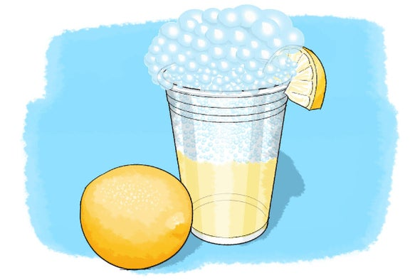 Make Your Own Fizzy Lemonade