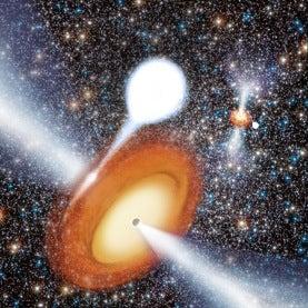Black holes in M22