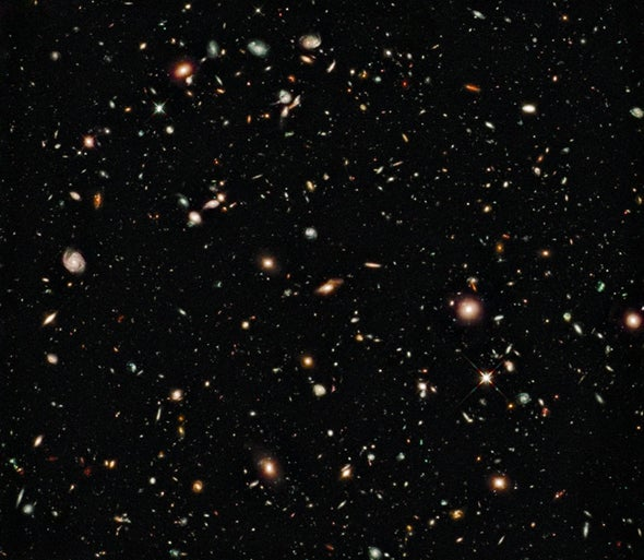 Hubble looks deeper into the cosmos
