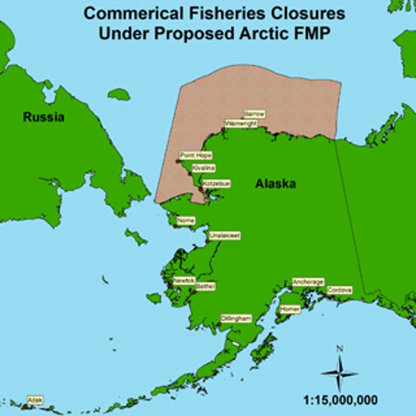 U.S. Arctic May Close to Commercial Fishing