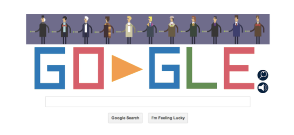 Google's insanely playful, Dalektable Doctor Who doodle