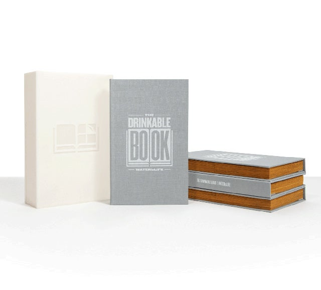 """""""Drinkable Book"""" Turns Dirty Water Clean for a Thirsty World"""