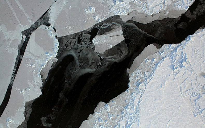 Arctic Sea Ice Sets Record-Low Peak for Third Year