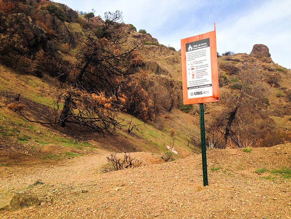 Nerds for Nature: Mt. Diablo Morgan Fire