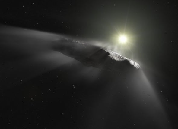 A Second Interstellar Object May Be Streaking through Our Solar System