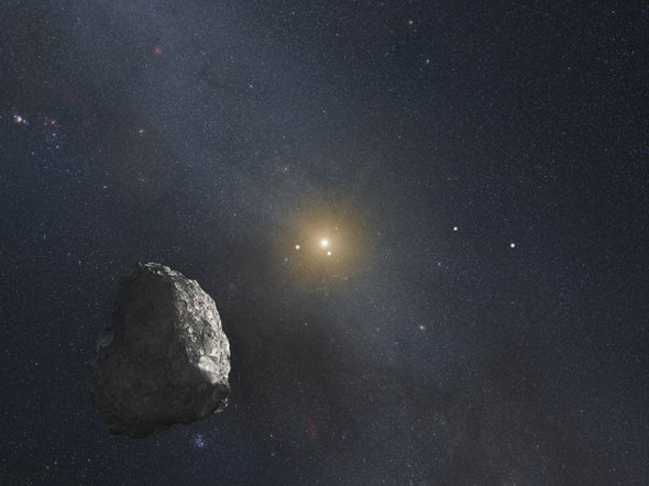 New Dwarf Planet Found in Our Solar System