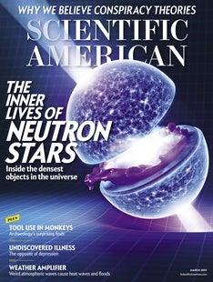 Scientific American Volume 320, Issue 3