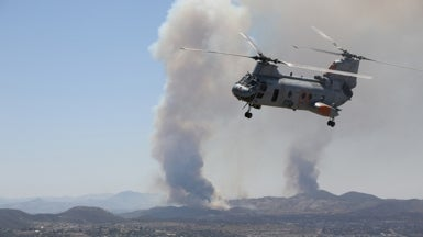 Wildfires Come Hard and Fast to Southern California