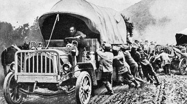 The Motor Vehicle, 1917