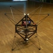 Insect-Style Flying Robot Perches to Save Energy