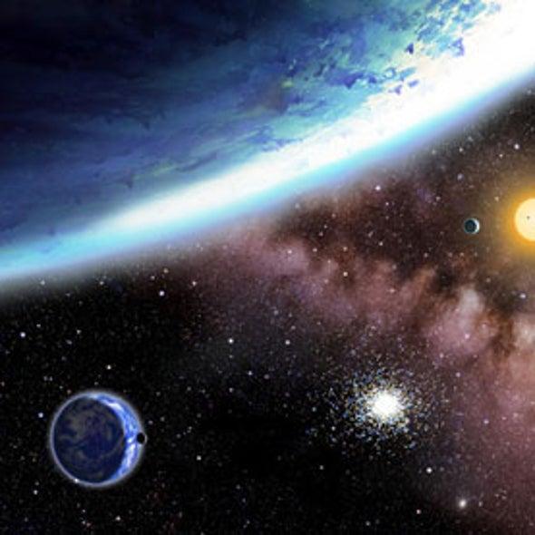 Planet-Seeking Spacecraft Spies Water Worlds