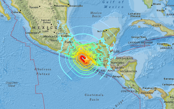 why the giant mexican earthquake happened