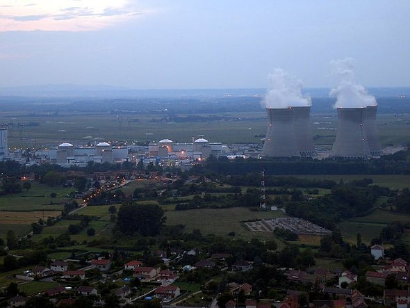 France Loses Enthusiasm for Nuclear Power