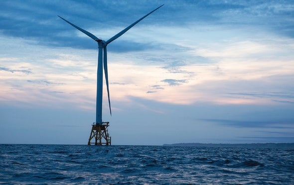 The U.S.'s First Offshore Wind Farm Is Scheduled to Open This Month