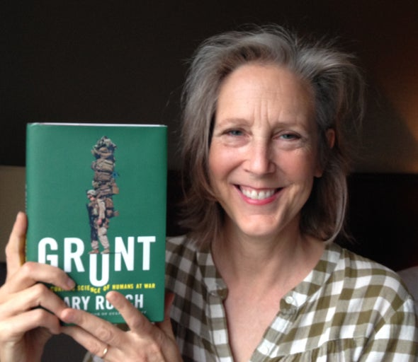 The Science of Soldiering: Mary Roach's <i>Grunt</i>