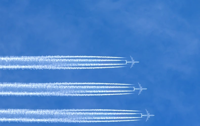 What Are Chemtrails Made Of? - Scientific American