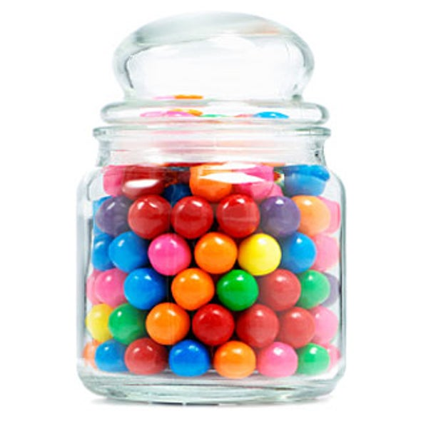 How Many Candies Are In That Jar Scientific American