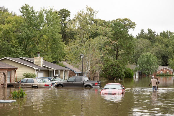 Dams Burst after Extreme Rainfall in South Carolina