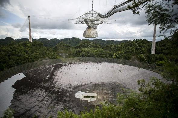 Arecibo Telescope Wins Reprieve from U.S. Government