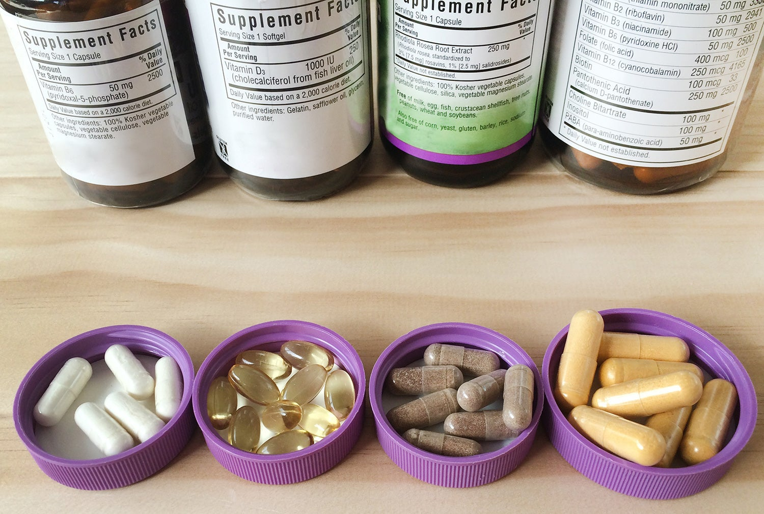 Do Vitamins and Supplements Make Antidepressants More