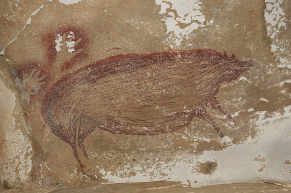 The World's Oldest Animal Paintings Are on This Cave Wall