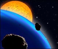 Telescope Network Detects Distant Planet
