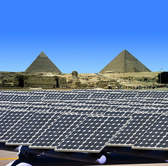 Solar Power Invades Oil-Rich Middle East