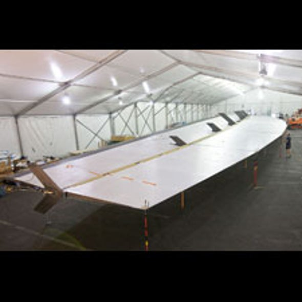 The Fixed-Wing Is In: America's Cup Sailors Plan to Use Rigid Carbon-Fiber Airfoil on U.S. Entry
