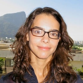 Brazilian physicist Leticia Palhares