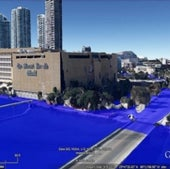 MIAMI, FLORIDA: Under one meter of sea level rise.