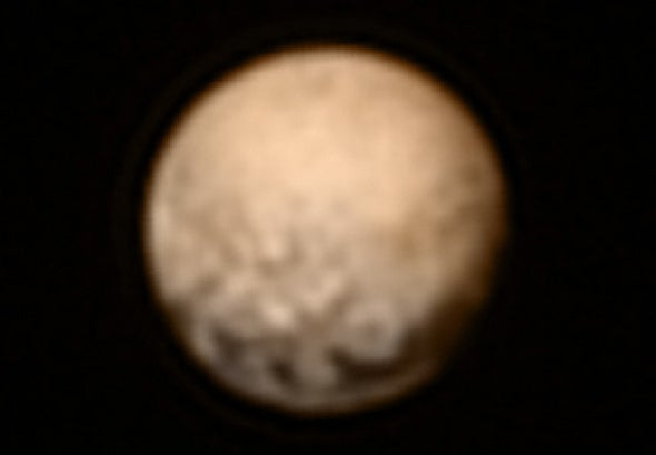 Pluto's Odd Dark Spots Continue to Puzzle Scientists