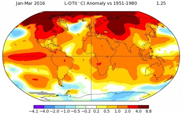 Earth Sees 11 Record Hot Months in a Row