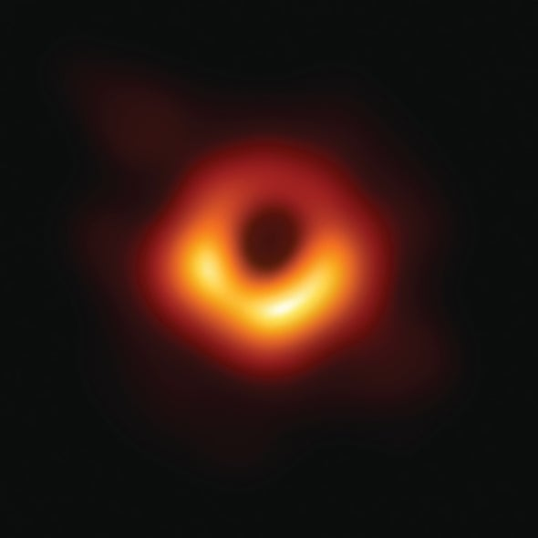 An Exit Chute from the Universe: The Story of a Historic Effort to Image a Black Hole