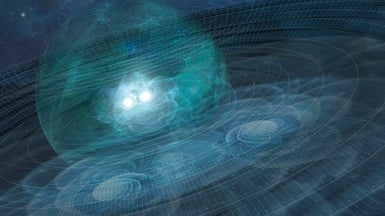 Gravitational Waves Discovered from Colliding Black Holes