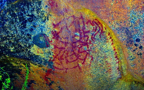 Archaeologists Identify More Than 150 Rock Art Paintings in Chile