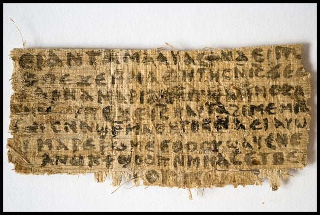 """Gospel of Jesus's Wife"" Shown to Be Authentic in Tests"