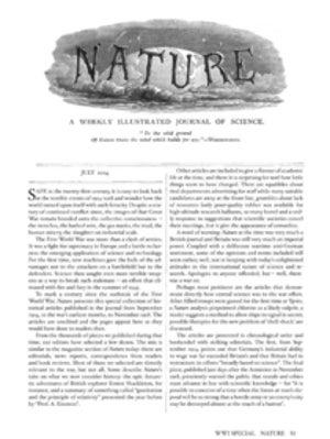 Nature at War