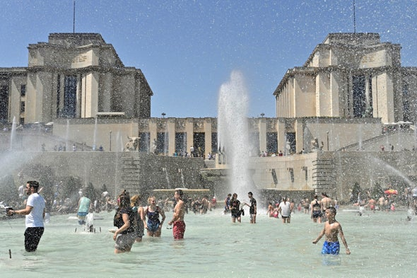 Climate Change Made Europe's Mega Heat Wave Five Times More Likely